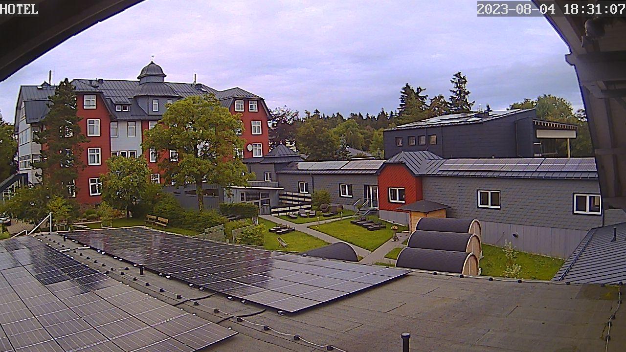 Berghotel Oberhof - Livecam
