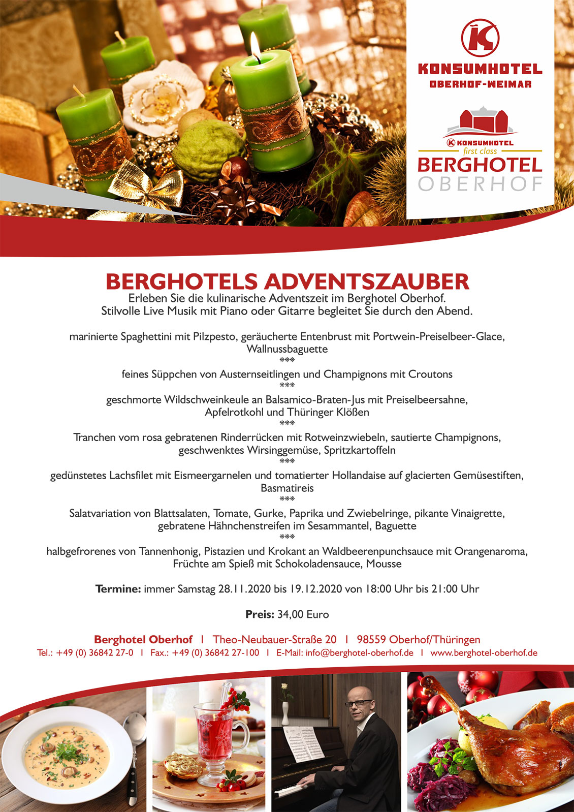 Berghotels Adventszauber