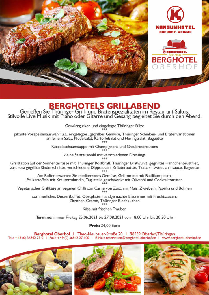 Berghotels Grillabend